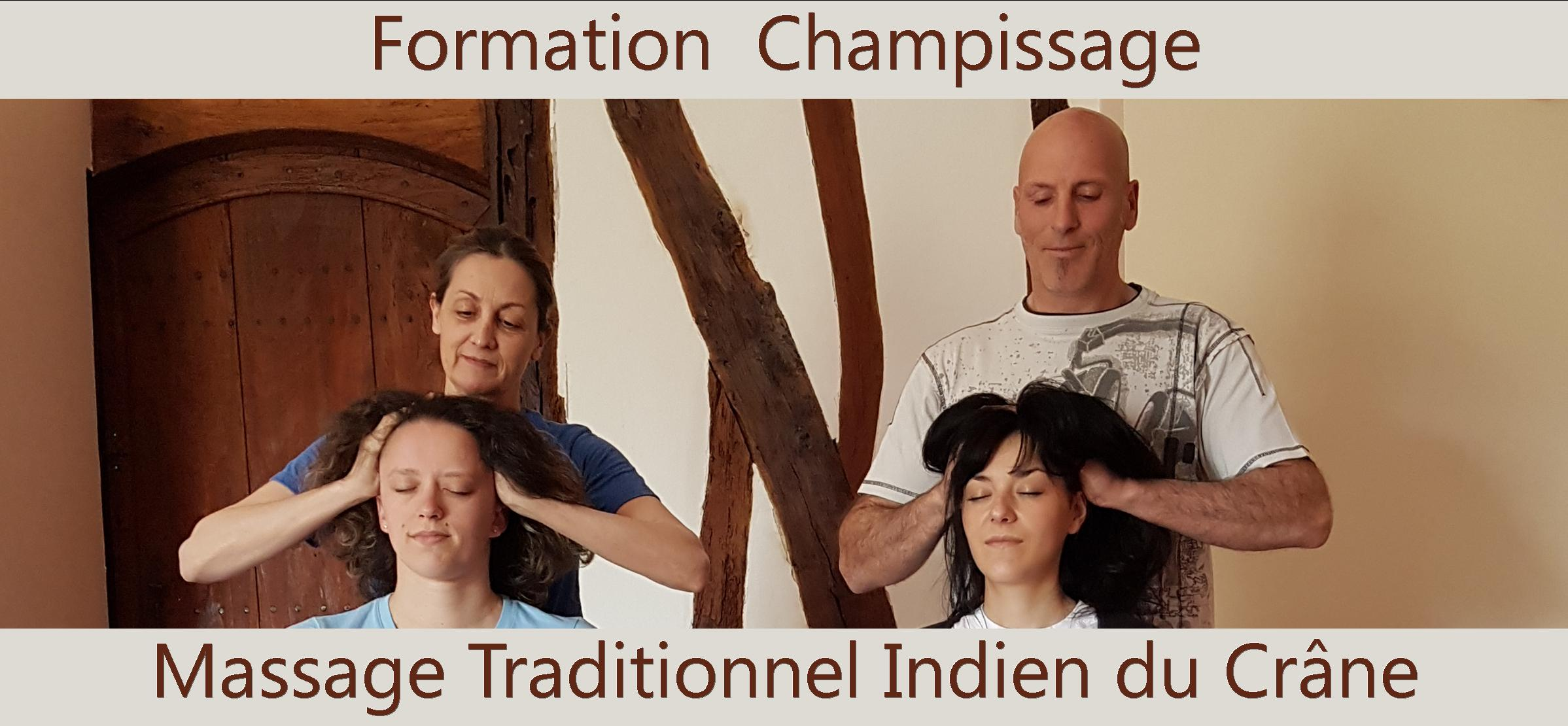Massage Traditionnel Indien du Crâne