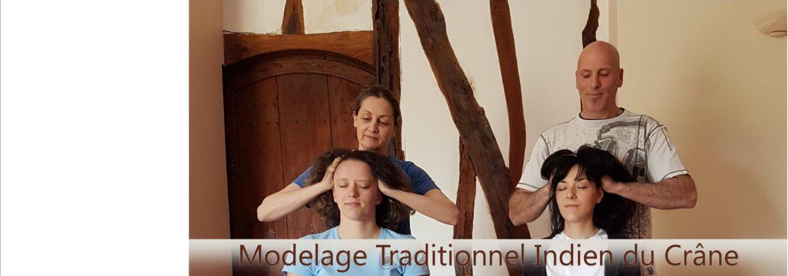 Formation Modelage Indien du Crâne