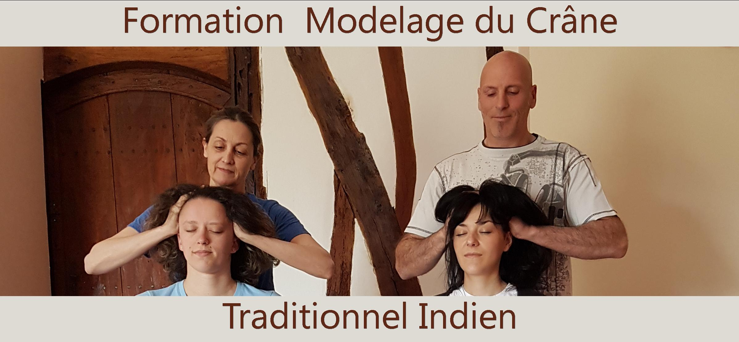 Modelage Traditionnel Indien du Crâne - Champissage